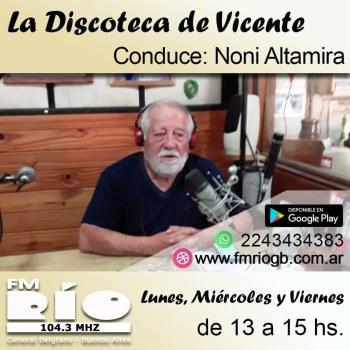 PR - La discoteca de Vicente
