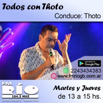 PR - Todos con Thoto